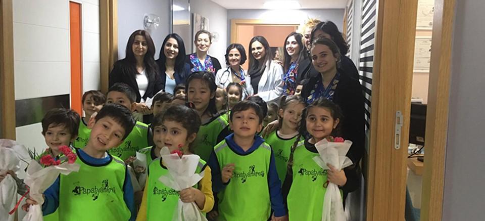 Papatyam Kreş'ten, Tıp bayramı etkinliği