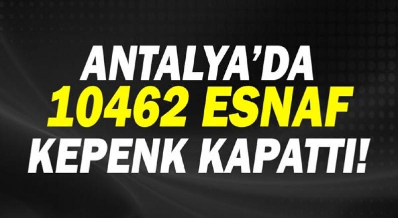 Rafet Zeybek: Antalya'da kapanan esnaf ve şirket sayısı on bini geçti!