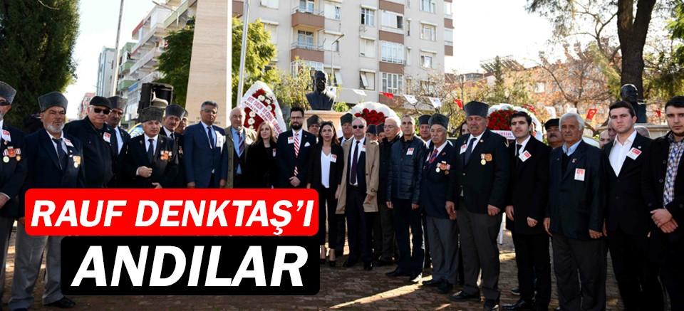 Rauf Denktaş,  Muratpaşa'da anıldı