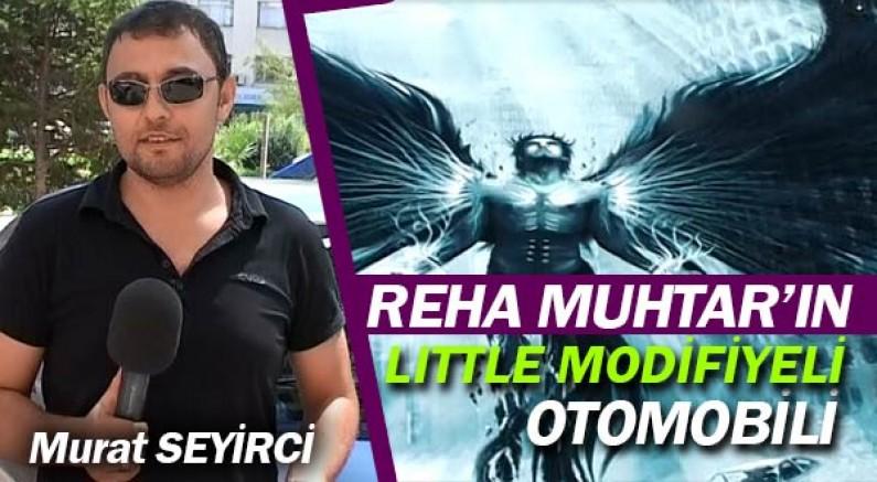 Reha Muhtar'ın otomobili Otoban'da yayında.