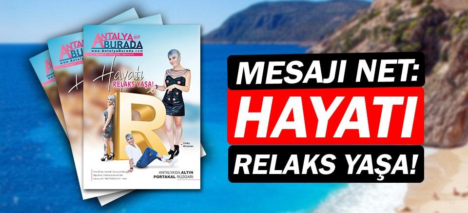 Relaks Spa'nın mesajı net: Hayatı Relaks Yaşa!