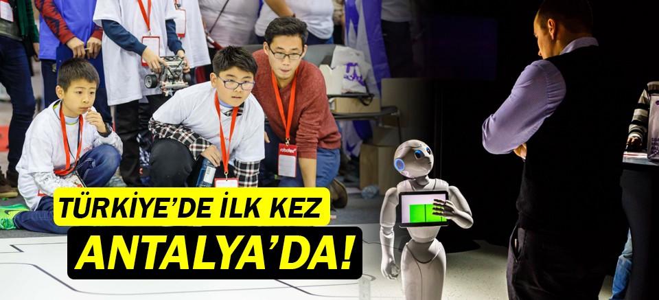 Robotex Turkey, ilk kez  Antalya'da gerçekleşecek!