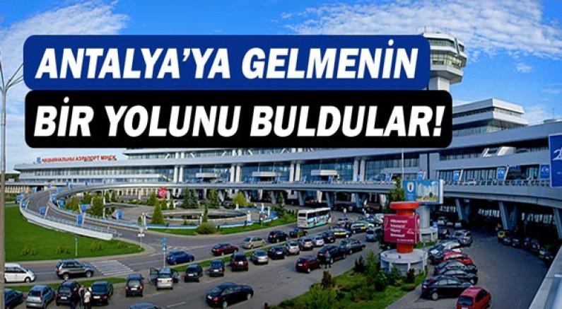 Rus tatilciler'den Antalya formülü!