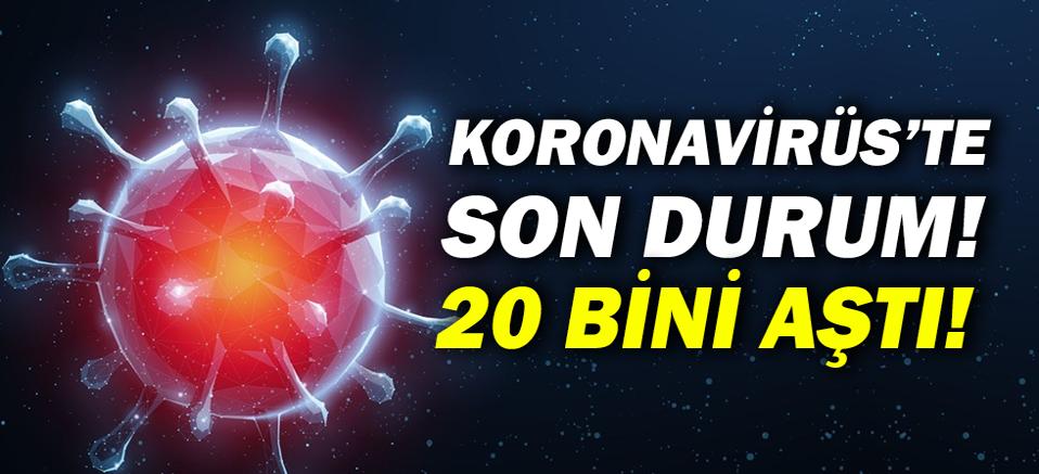 Sağlık Bakanı Koca Açıkladı: Türkiye'de Koronavirüs 425 can aldı vaka sayısı ise...