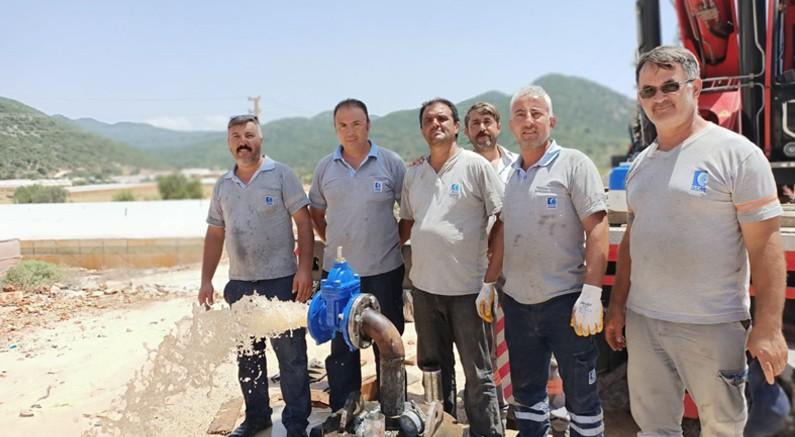 Sahil Kılınçlı'nın su sorunu 400 metrelik sondajla çözüldü