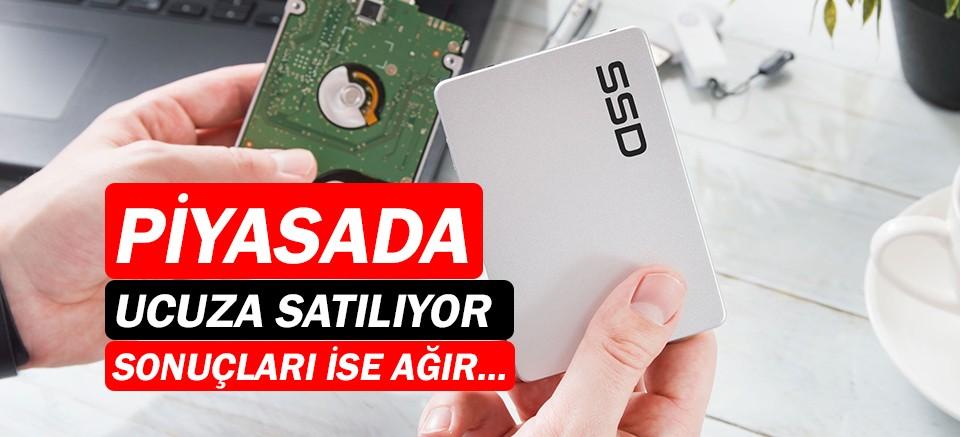 Sahte SSD'lere dikkat! Kötü sonuçlar doğurabiliyor...