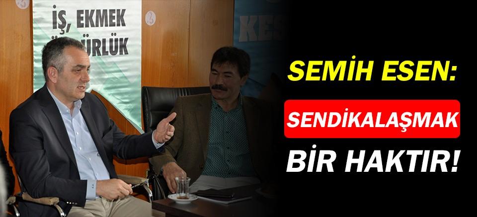 Semih Esen: Siyasetçiler kutsal değildir!