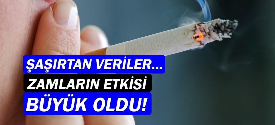 Sigara zamlarının etkisi büyük oldu!