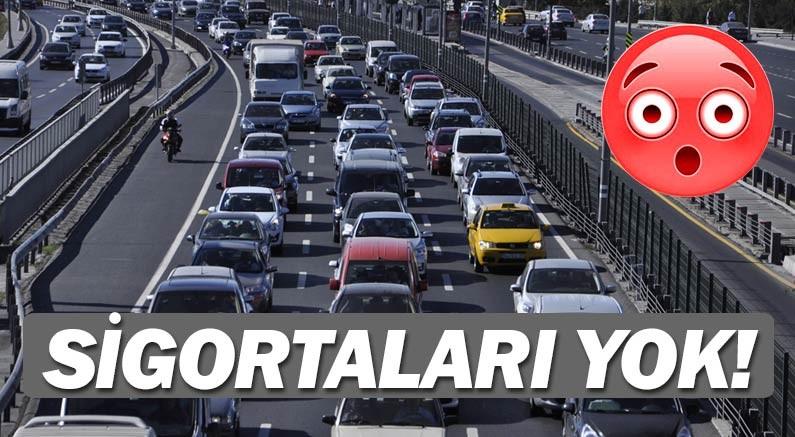 Sigortasız araç kullanımında Antalya ilk sıralarda yok...