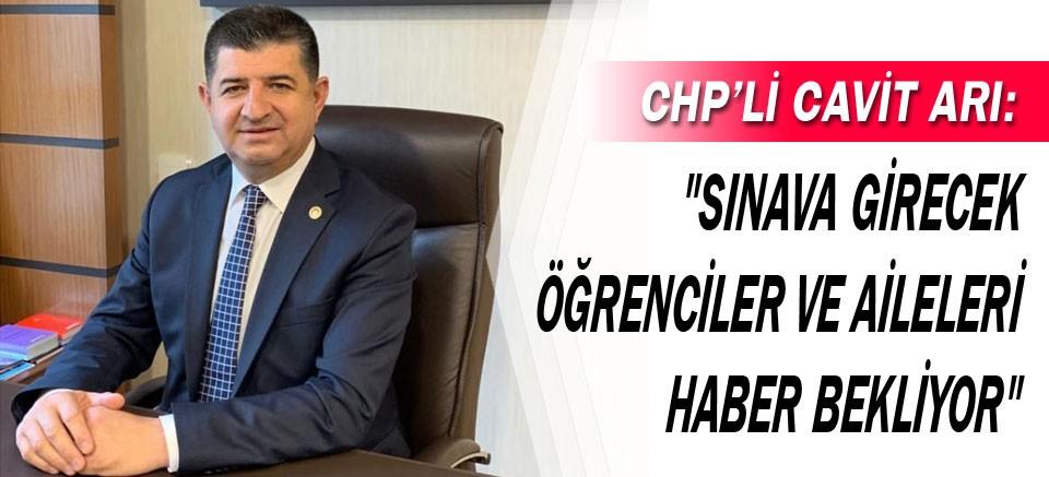 """""""Sınava Girecek Öğrenciler ve Aileleri Haber Bekliyor"""""""