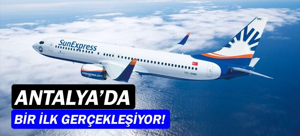 SunExpress'in ilk A320 uçağı, ilk kez Antalya'dan uçuyor!