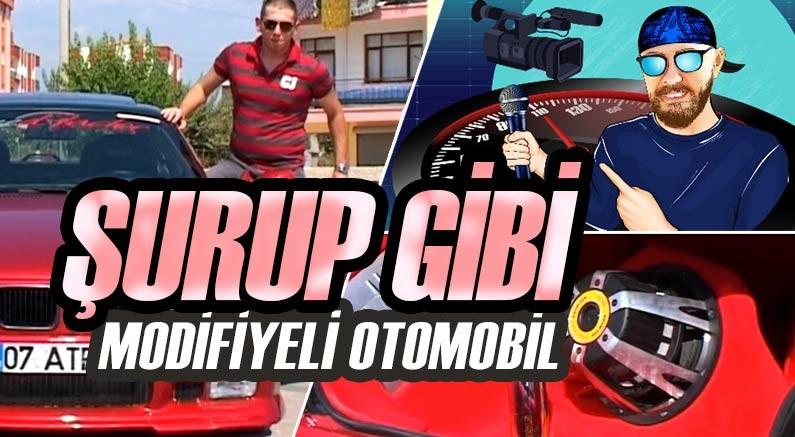 Şurup rengi ile şurup gibi otomobil muratseyirci youtube kanalında.
