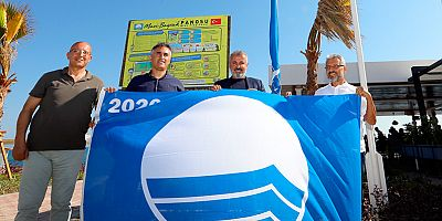 Evrenseki ve Boğaz Otel plajlarına mavi bayrak ödülü