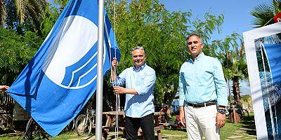 Halkın plajlarında mavi bayraklar dalgalanıyor