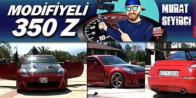 Murat Seyirci bu kez kırmızı Nissan 350Z'i youtube kanalına taşıdı.