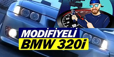 youtube.com/muratseyirci youtube kanalında modifiyeli BMW 320i