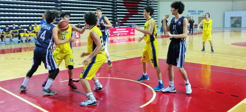 TBF U16 Erkekler Anadolu Şampiyonası Antalya'da başladı