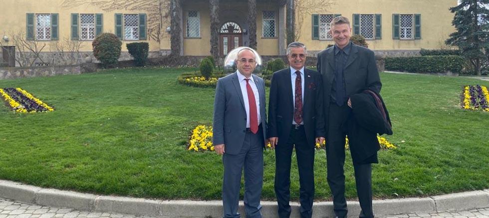 Topaloğlu'ndan Almanya Büyükelçisi'ne ziyaret