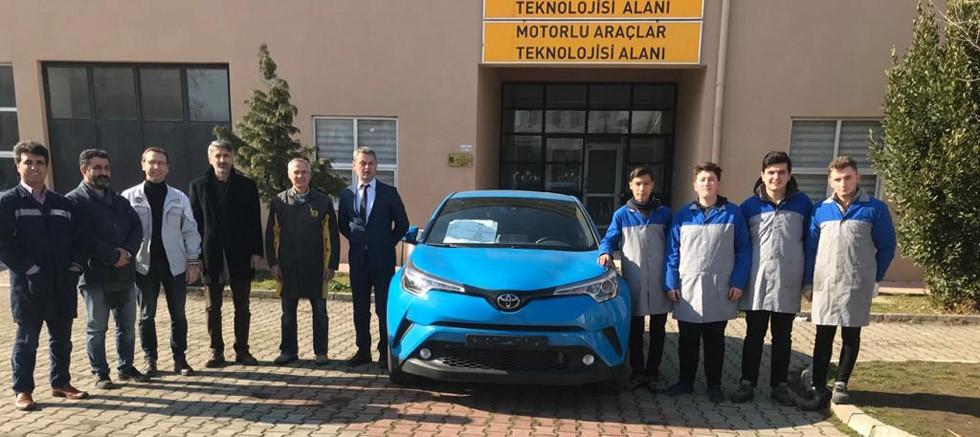 Toyota Otomotiv Sanayi'den eğitime destek