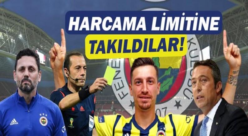 Transferler Harcama Limitine Takıldı!