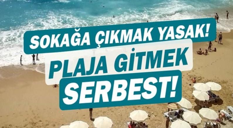Turistler mağdur olmasın diye... Plajlar serbest!