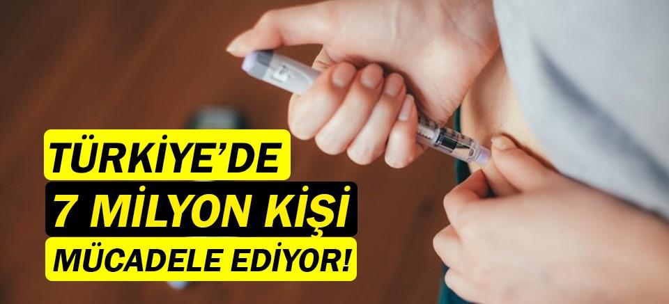 Türkiye'de 7 milyon kişi diyabetle mücadele ediyor!