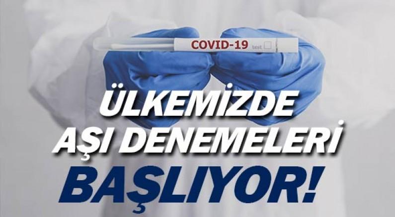 Türkiye'de Covid19 aşısında önemli gelişme.