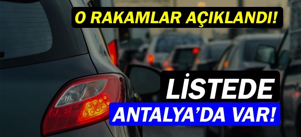 Türkiye'de kişi başına düşen otomobil sayısı açıklandı!