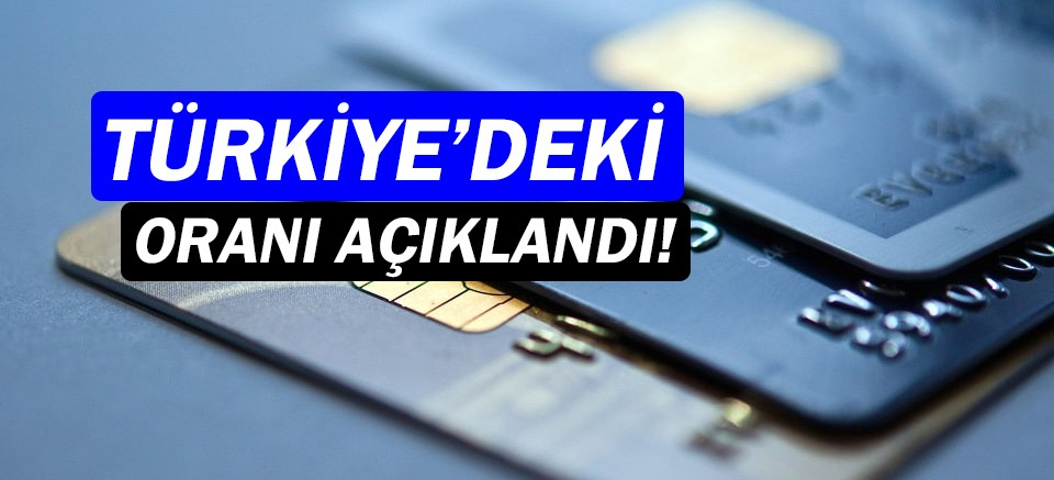 Türkiye'nin yüzde 69'unun banka hesabı var