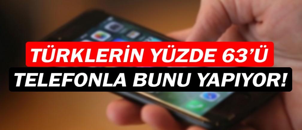 Türkler, biletlerini telefonla alıyor!
