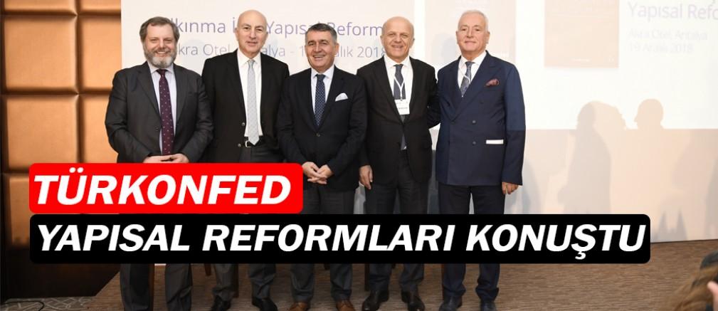 TÜRKONFED, Antalya'da toplandı