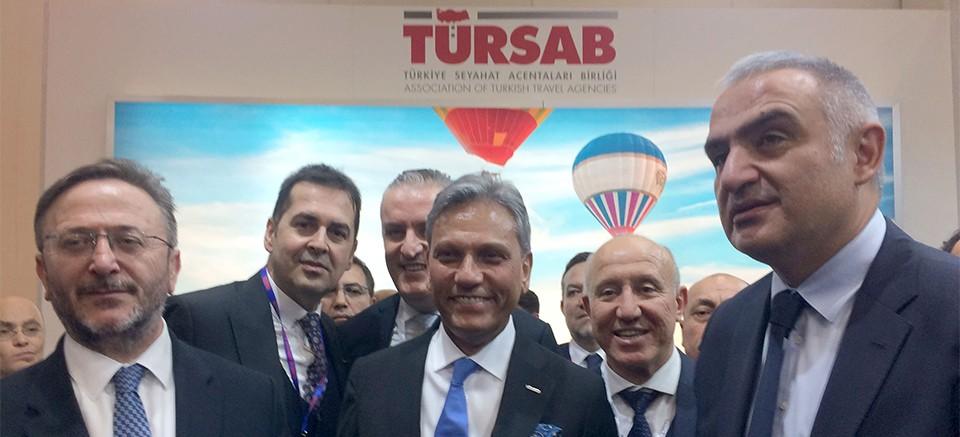 TÜRSAB Batı Antalya Başkanlığı, EMİTT Fuarı'nda