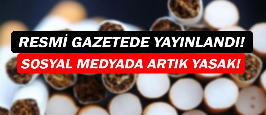 Tütün ürünlerine sosyal medyada da denetim!