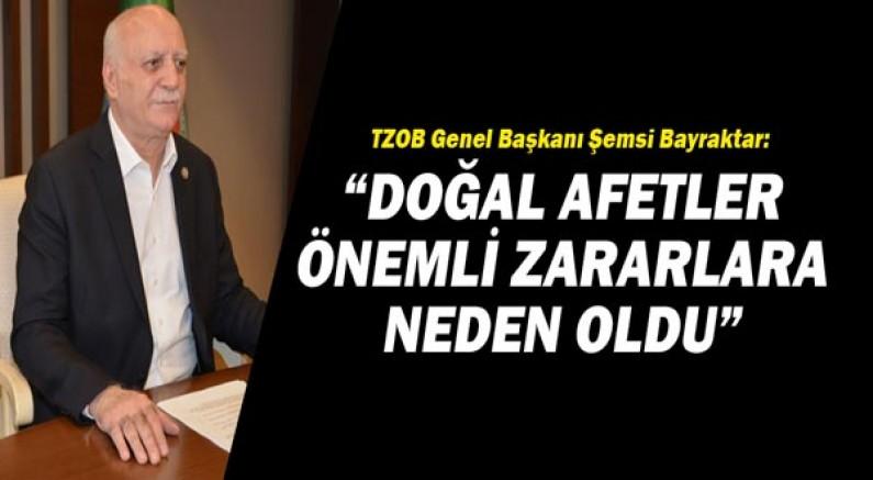 TZOB Genel Başkanı Şemsi Bayraktar: Kuraklık, hayvancılıkta yükselen maliyetleri daha da artıracak