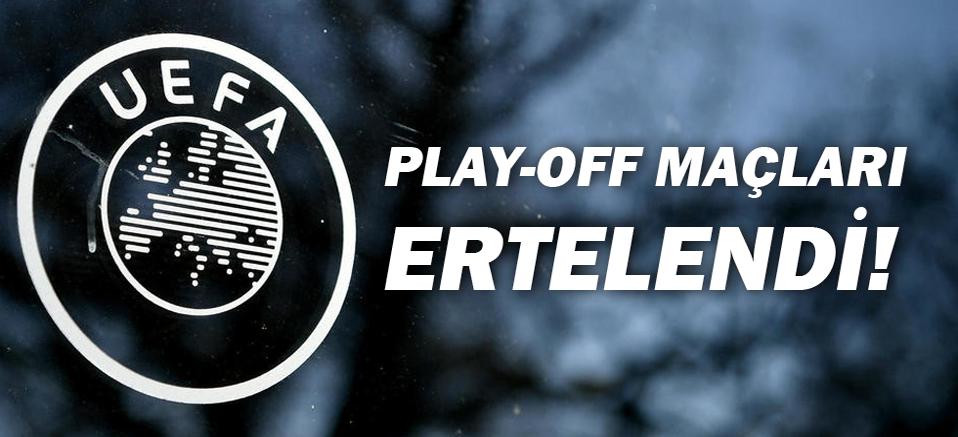 UEFA Açıkladı Euro 2020 play-off maçları ertelendi!