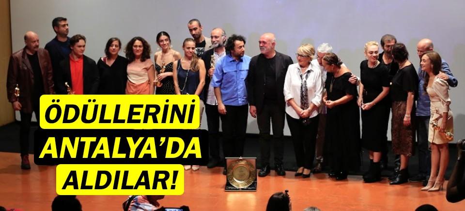 Ulusal Yarışma'nın kazananlarına Altın Portakal!
