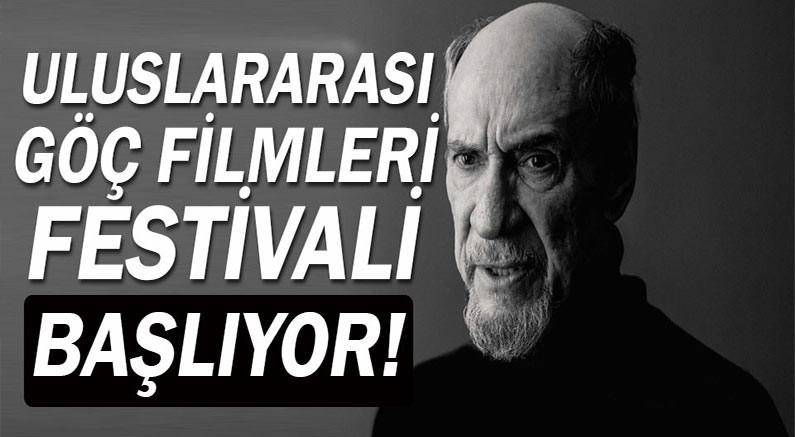 Uluslararası Göç Filmleri Festivali Pazar günü başlıyor.