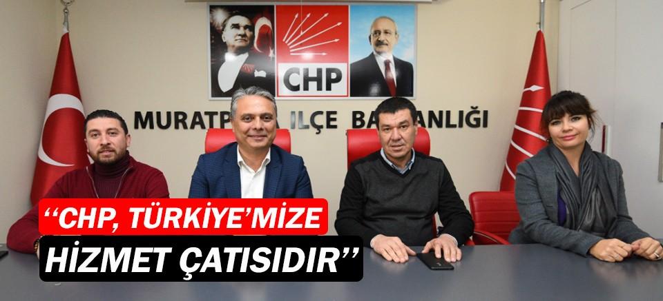 """Ümit Uysal, """"CHP, Türkiye'mize hizmet çatısıdır"""""""