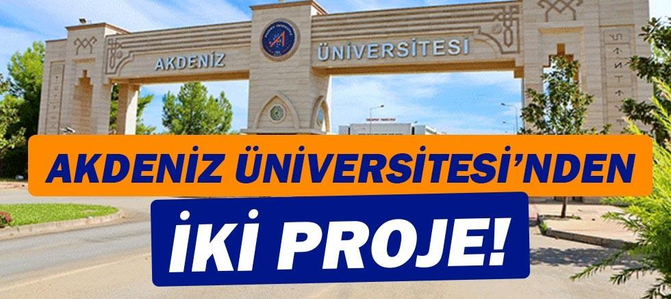 Üniversite-Sanayi İşbirliği  Programına Akdeniz Üniversitesi'nden 2 Proje