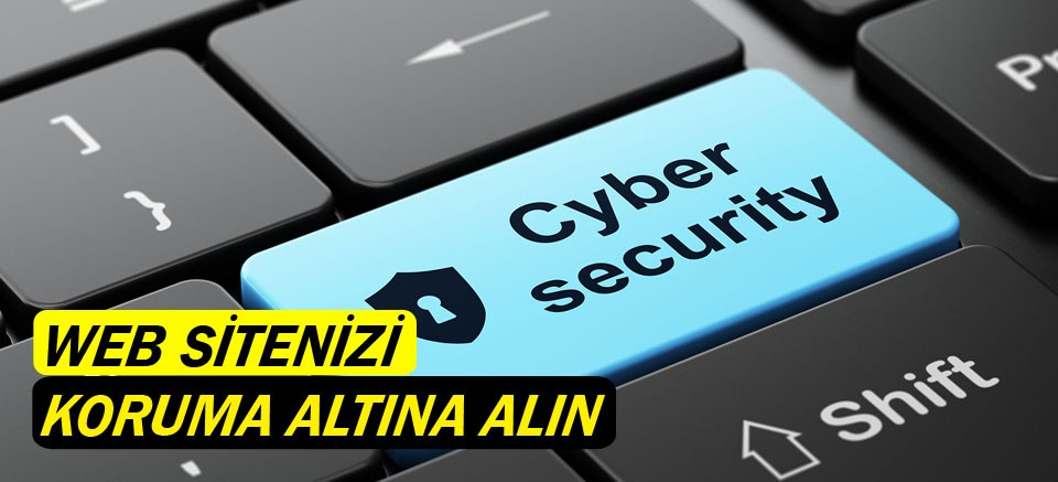 Web sitenizi koruma altına alın