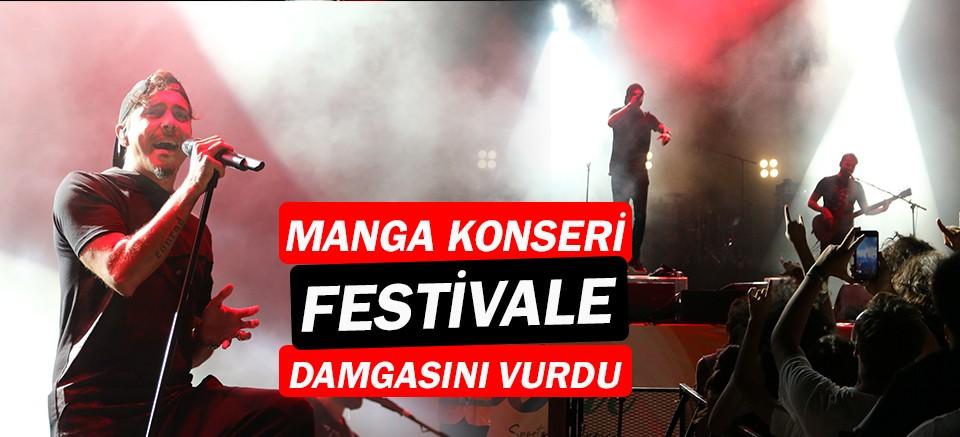 Wlive Sports ve Music Festivali'nde Manga konseri...