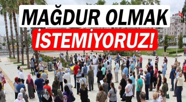 Yavuz Selim Mahallesi sakinleri Kepez Belediyesi'ne akın etti.