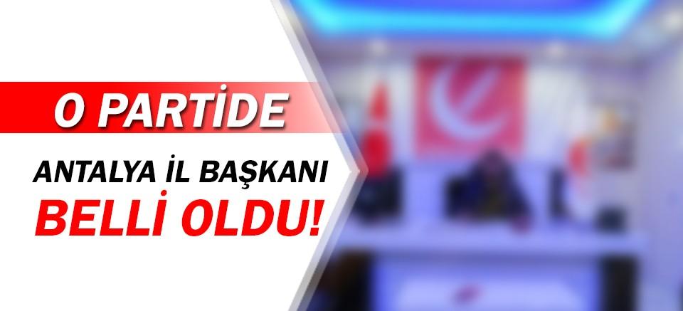 Yeniden Refah Partisi'nin Antalya İl Başkanı belli oldu!