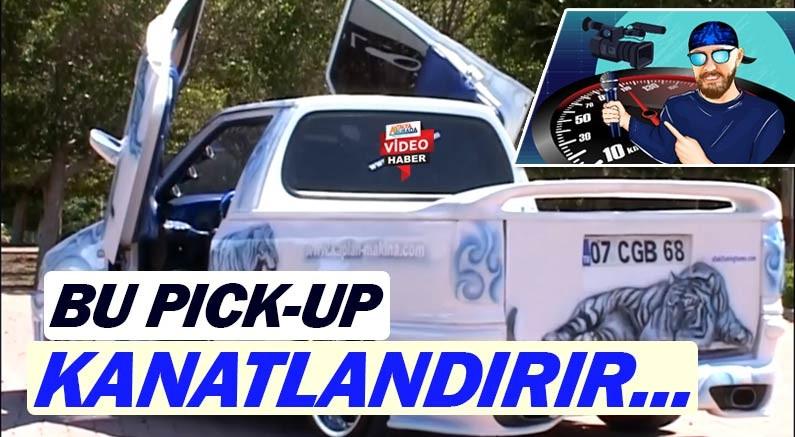 Youtube otomobil kanalında bu kez modifiyenin pick-up versiyonu yayında...