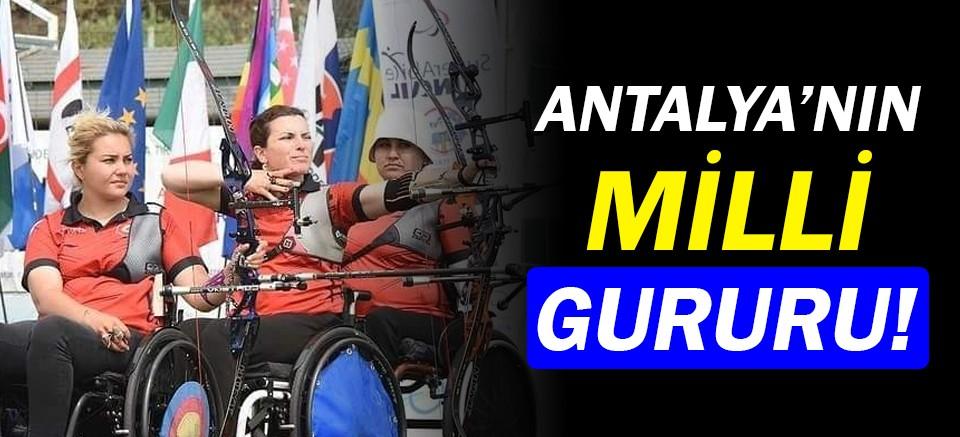 Zehra Özbey Torun'dan Antalya'yı gururlandıran başarı!